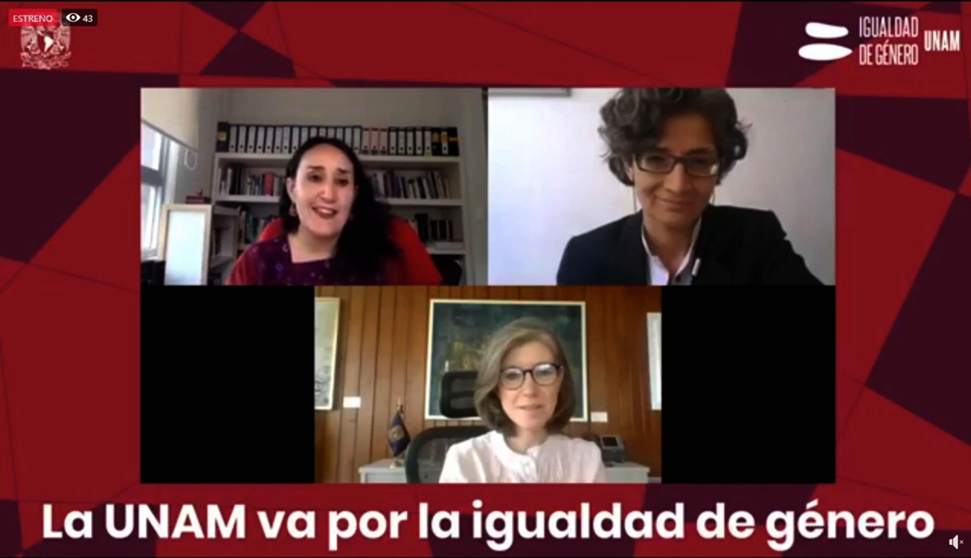 Avance sustancial de la UNAM en igualdad de género