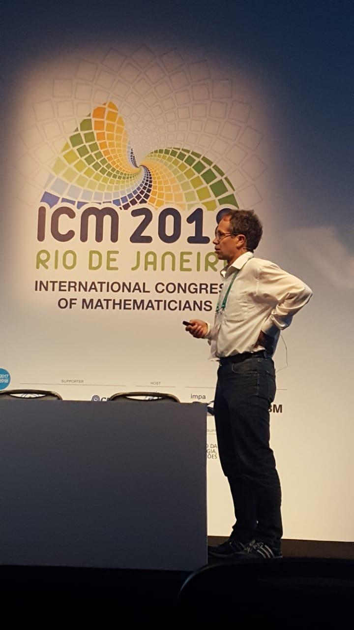 Christof Geiss participa en el ICM 2018
