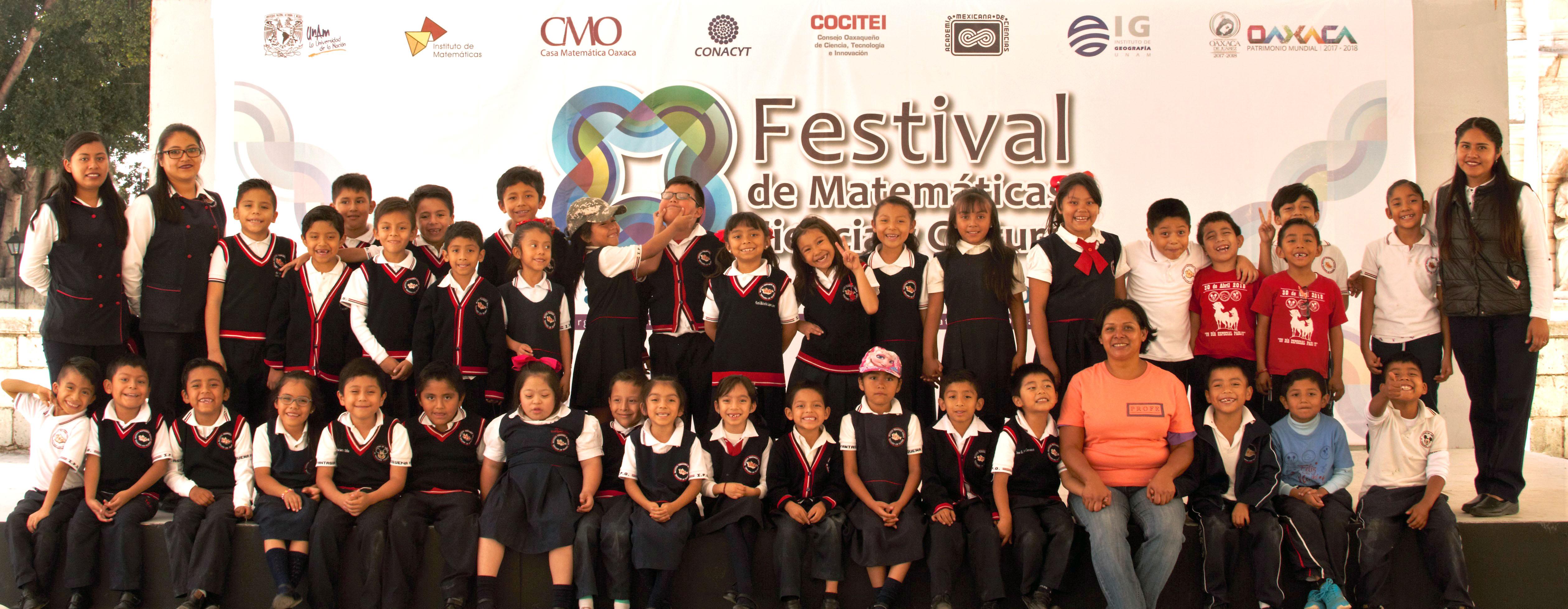 Concluye exitosamente el Festival de Matemáticas, Ciencia y Cultura 2018 en Oaxaca