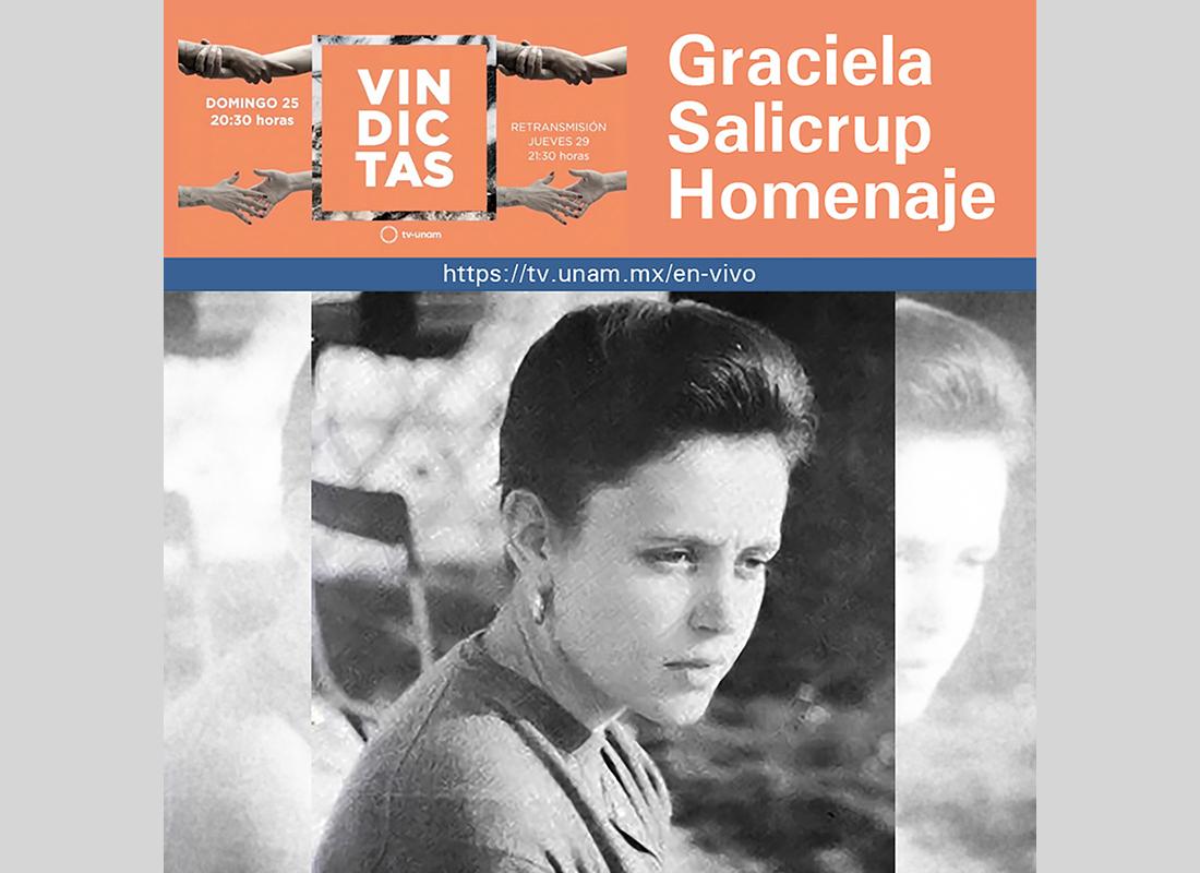 Graciela Salicrup, matemática pionera en la rama de la topología categórica, en Vindictas
