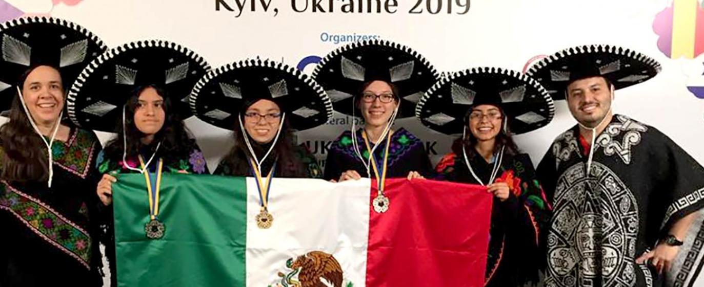 La Olimpiada Matemática Mexicana incentiva la participación de niñas