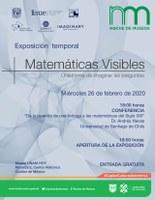 Inicia la exposición Matemáticas Visibles en el Museo UNAM HOY