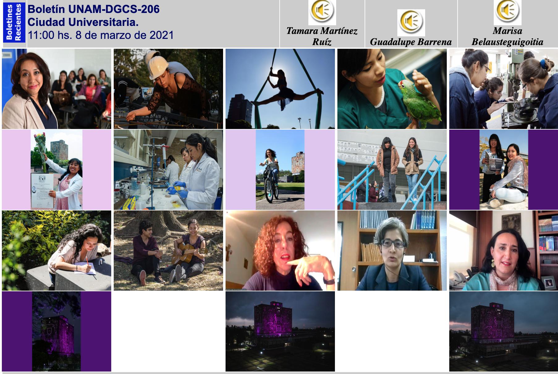 La UNAM hacia la igualdad de género