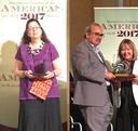 Mónica Clapp recibe la medalla Solomon Lefschetz y José Antonio de la Peña el Premio de las Américas 2017