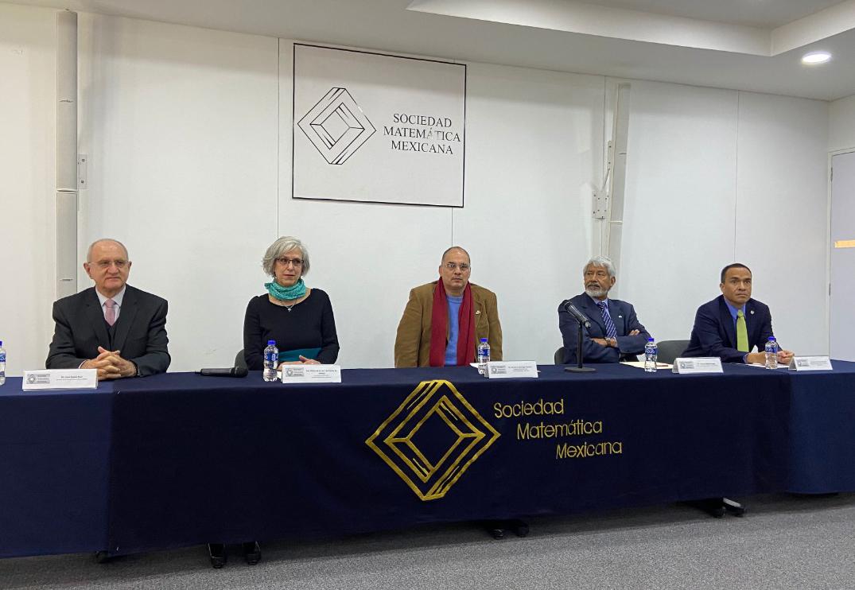 Junta directiva de la Sociedad Matemática Mexicana 2020-2022