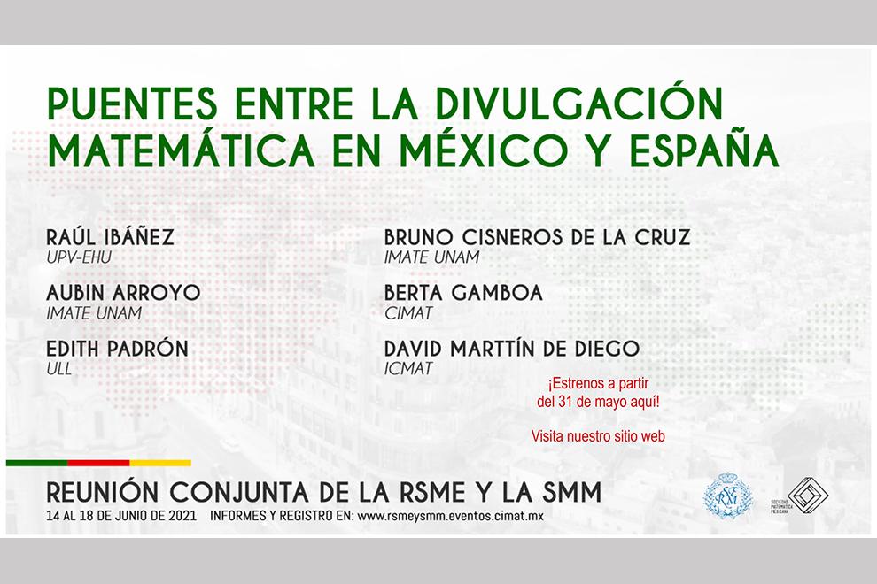 Primeros pasos para la colaboración México-España en divulgación matemática
