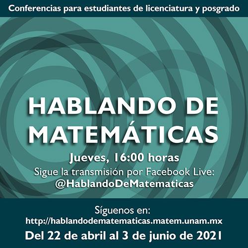 Hablando de Matemáticas 1er s 2021