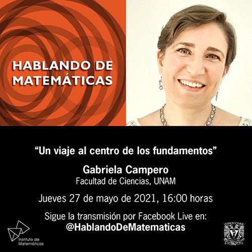 Hablando de Matemáticas 27 de mayo