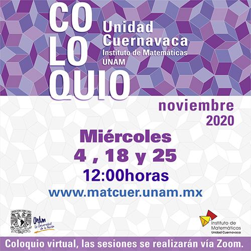 Coloquio Cuernavaca, Noviembre