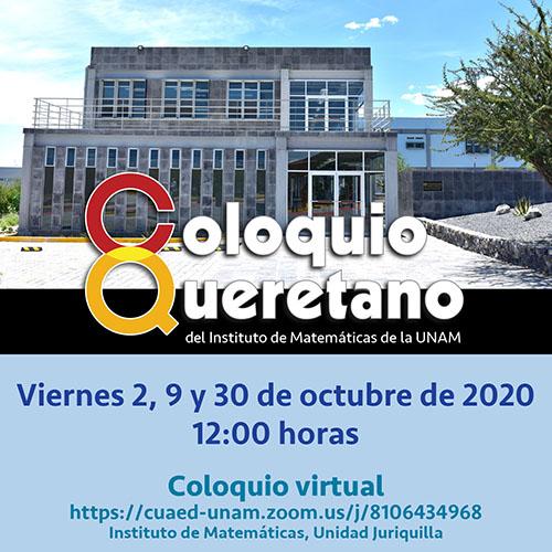 Coloquio Queretano, Octubre 2020