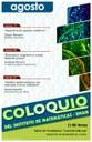 Agosto, 2013: Sesiones para Coloquio