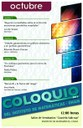 Octubre, 2013: Sesiones para Coloquio