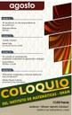 Agosto: Sesiones para Coloquio