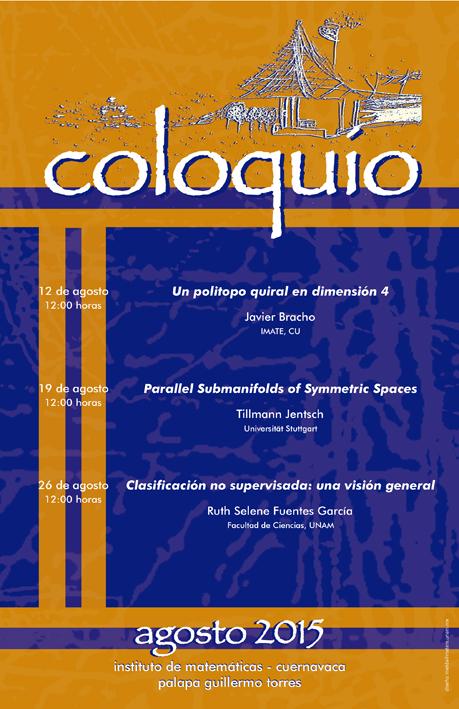 Agosto: Sesiones para Coloquio de la Unidad Cuernavaca