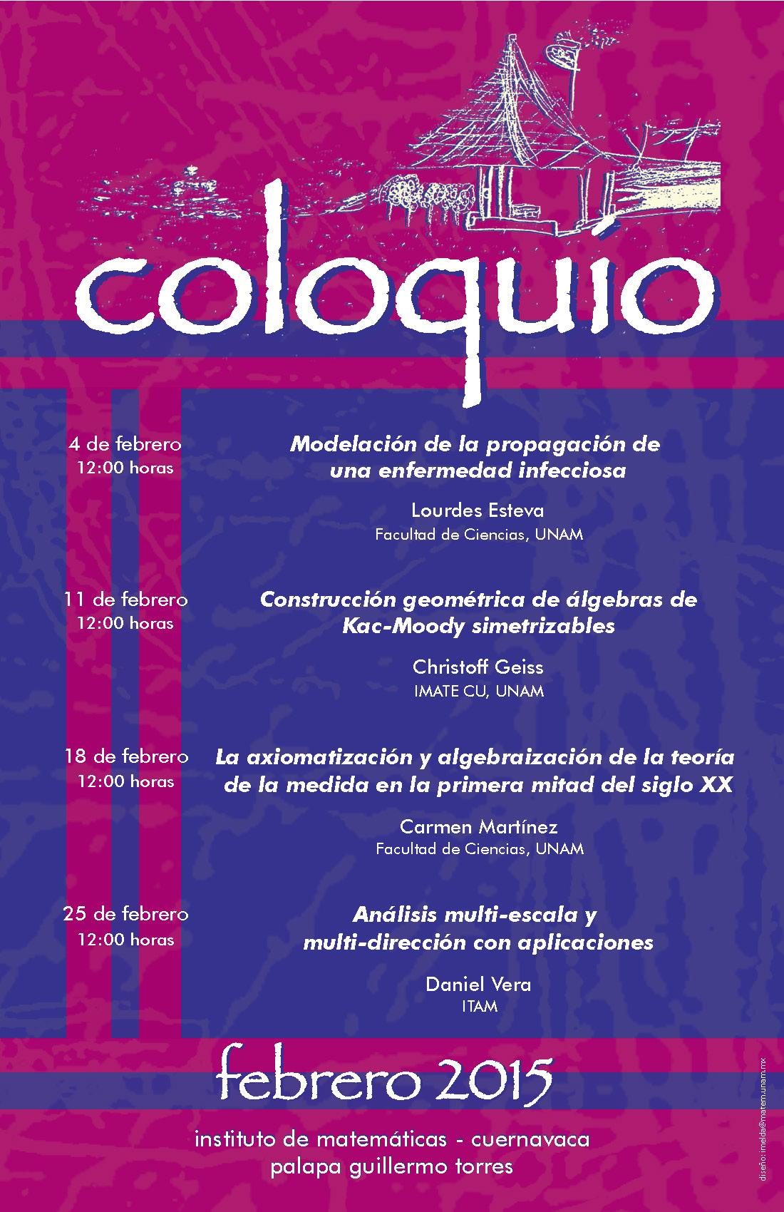 Febrero: Sesiones para Coloquio de la Unidad Cuernavaca
