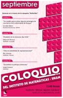 Septiembre: Sesiones para Coloquio
