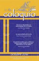 Octubre: Sesiones para Coloquio de la Unidad Cuernavaca