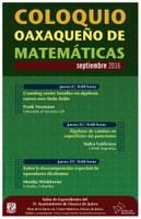 Septiembre: Coloquio Oaxaqueño de Matemáticas