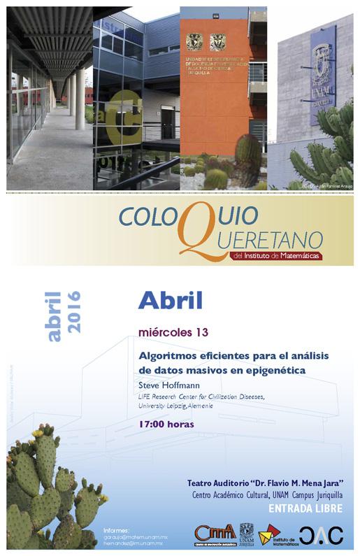 Abril: Coloquio Queretano