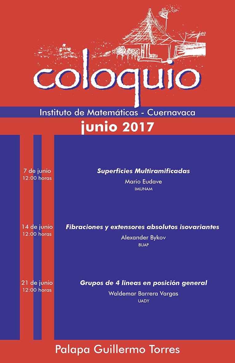 Junio: Sesiones para Coloquio de la Unidad Cuernavaca