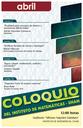 Abril: Sesiones para Coloquio
