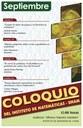 Coloquio del IMUNAM - C.U.