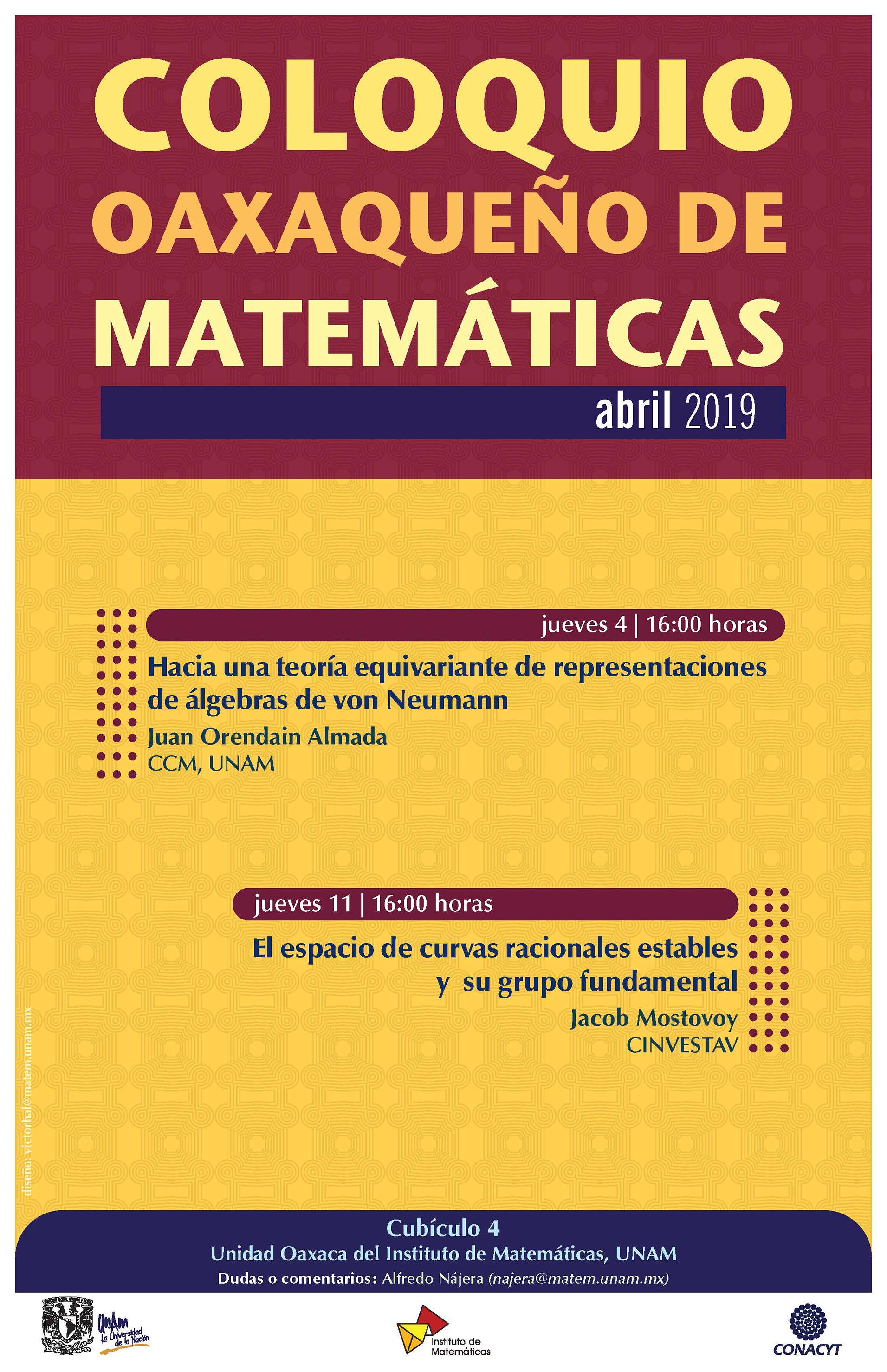 Coloquio Oaxaqueño de Matemáticas