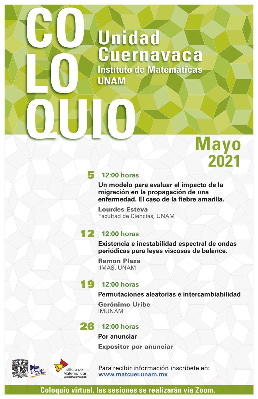 Coloquio Cuernavaca, mayo