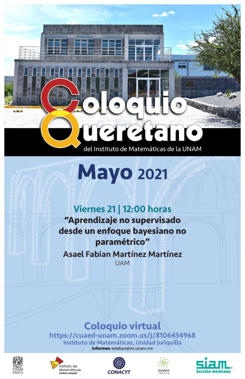 Coloquio Queretano del IMUNAM - Juriquilla, mayo
