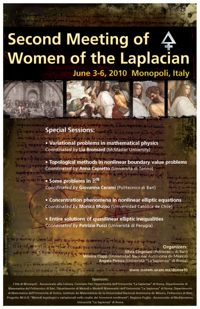 Second Meeting of the Women of the Laplacian