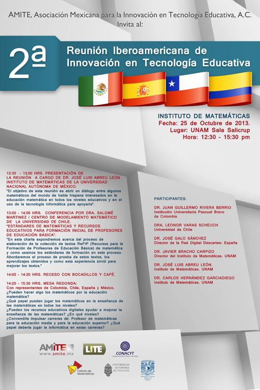 2ª. Reunión Iberoamericana de Tecnología Educativa