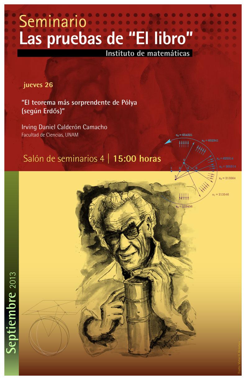 El teorema más sorprendente de Pólya (según Erdős)