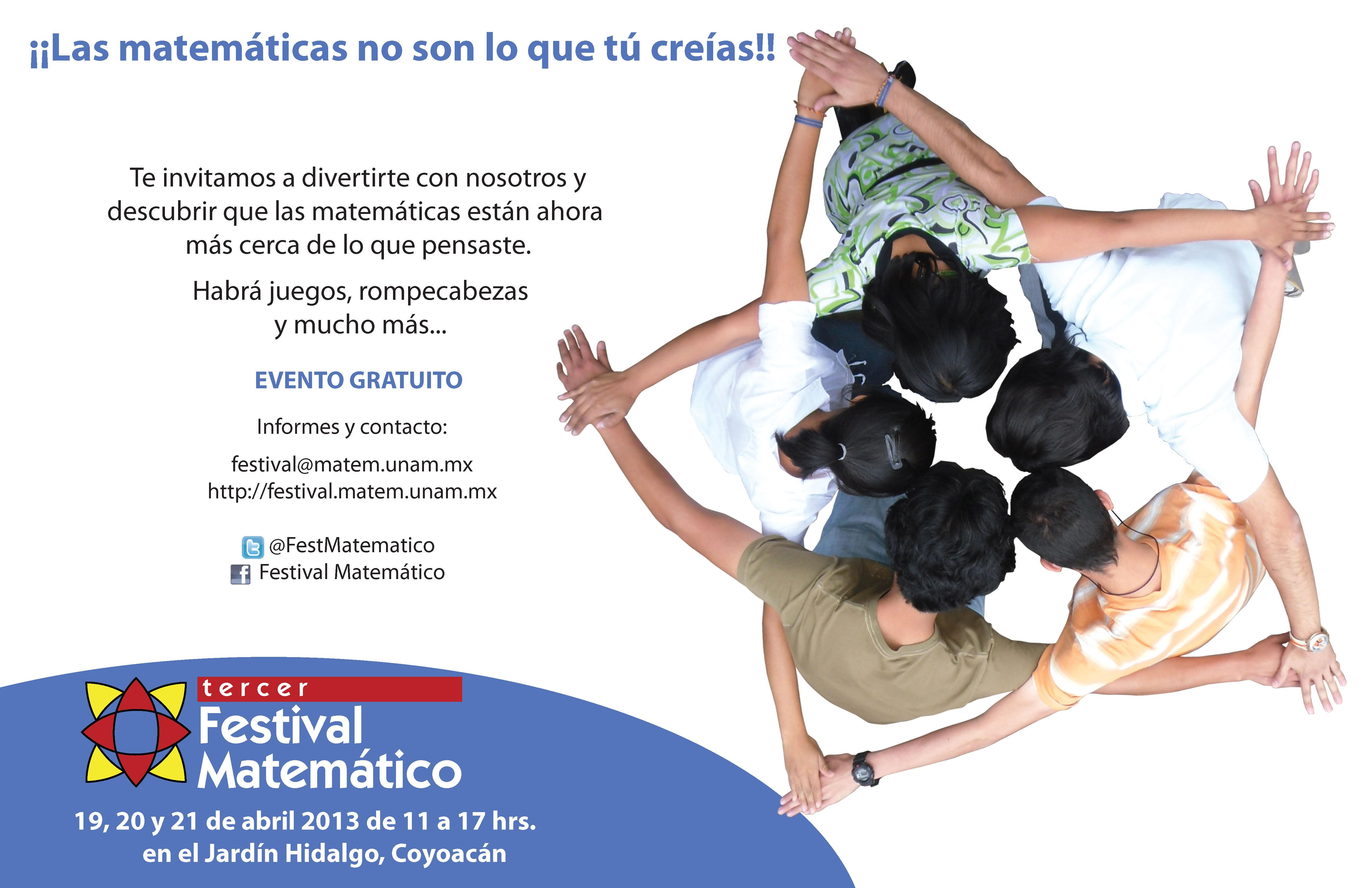 Tercer Festival Matemático