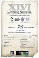 XLVI Congreso Nacional de la Sociedad Matemática Mexicana