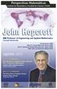 Perspectivas Matemáticas: Agosto, John Hopcroft