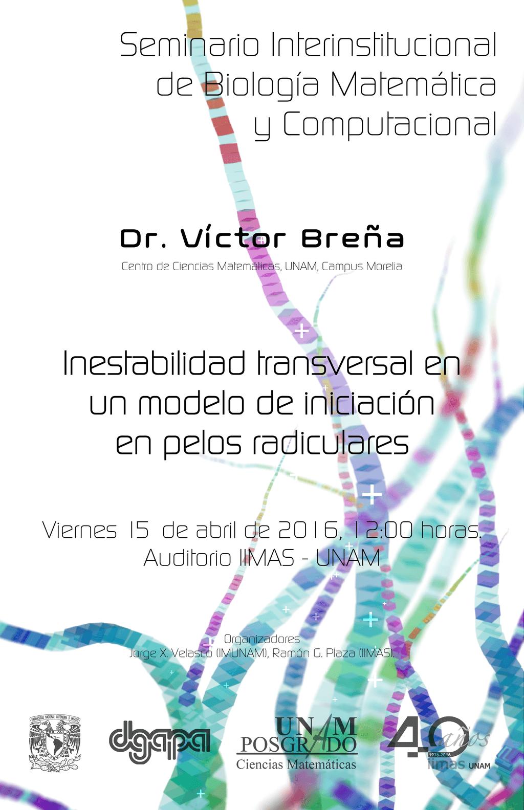 1er. Seminario Interinstitucional de Biología Matemática y Computacional