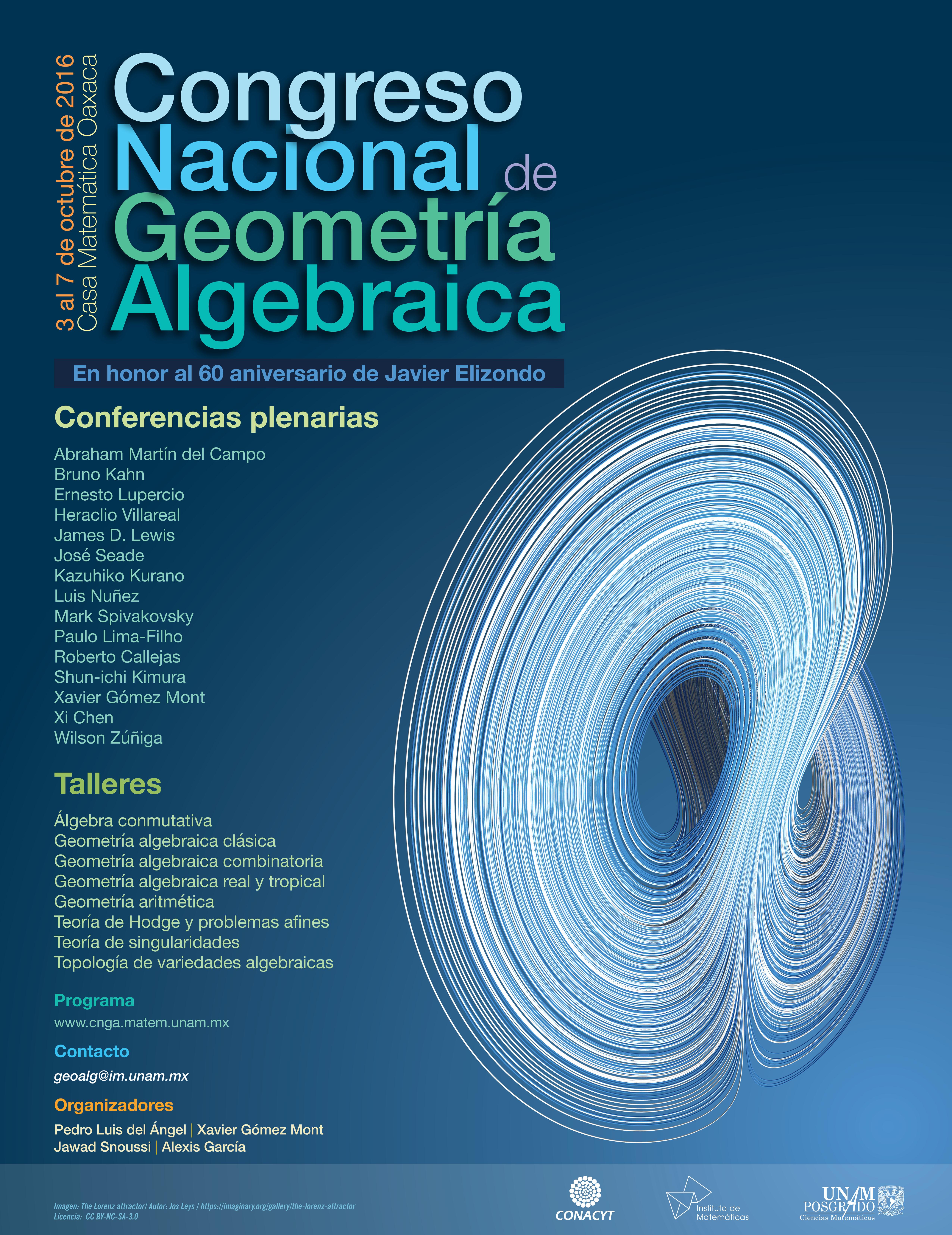 Congreso Nacional de Geometría Algebraica