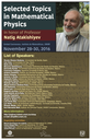 Selected Topics in Mathematical Physics