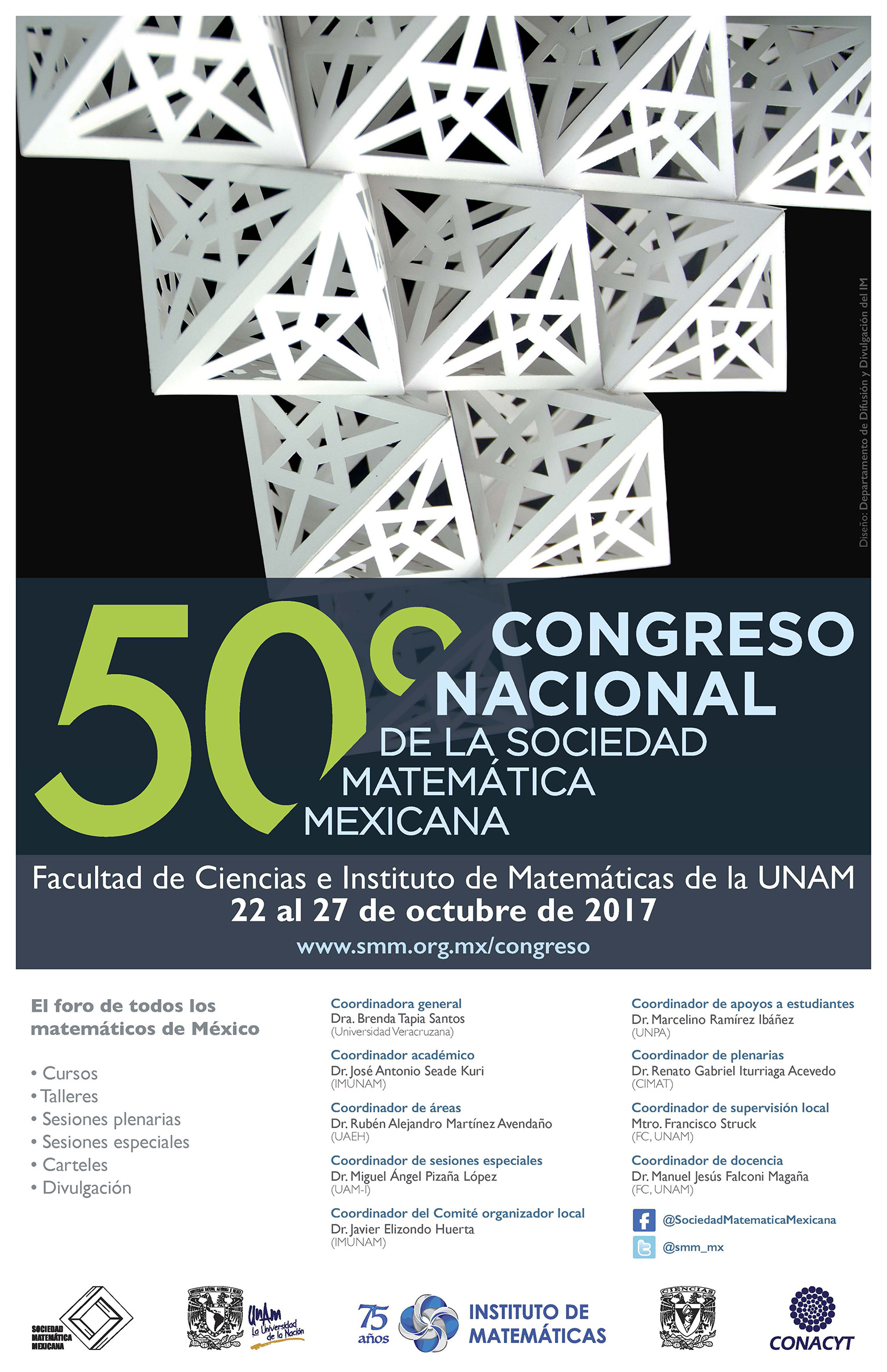 50 Congreso Nacional de la Sociedad Matemática Mexicana