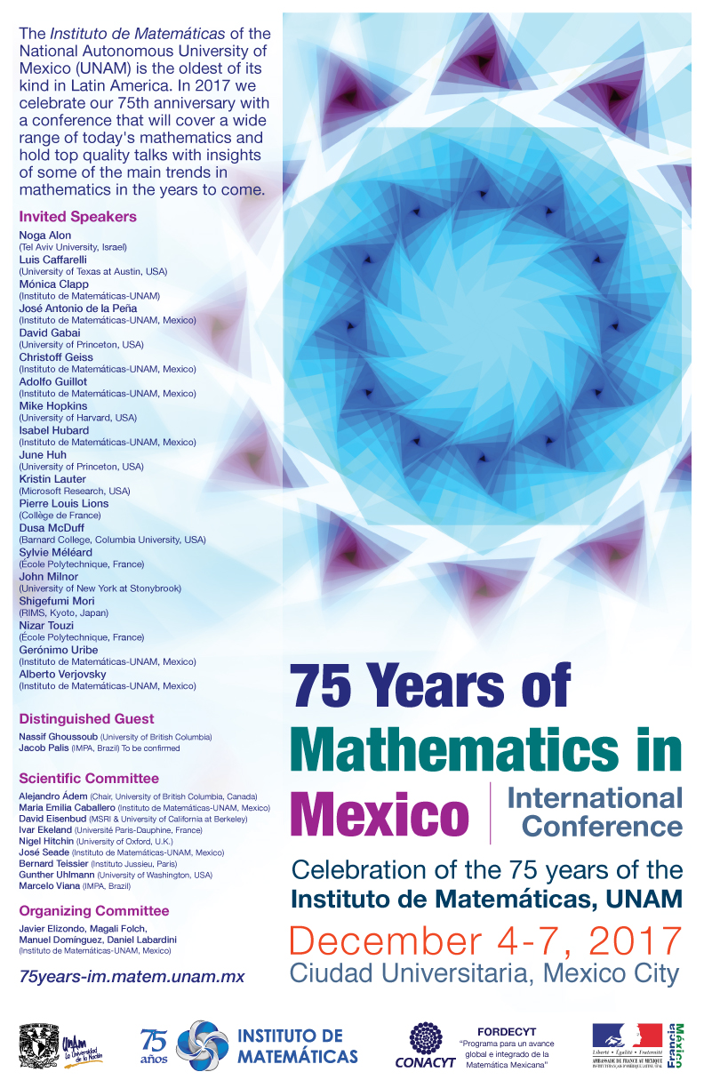 75 years of Mathematics in Mexico