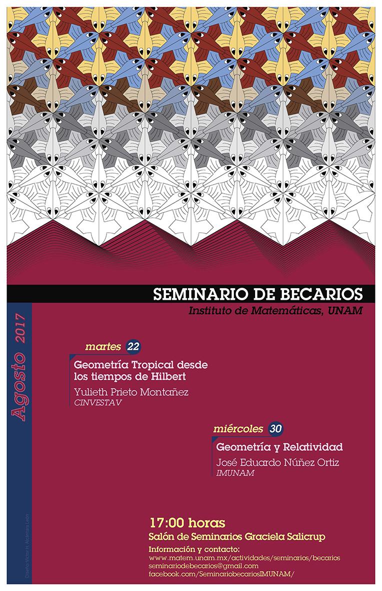 Agosto: Sesiones para Seminario de Becarios