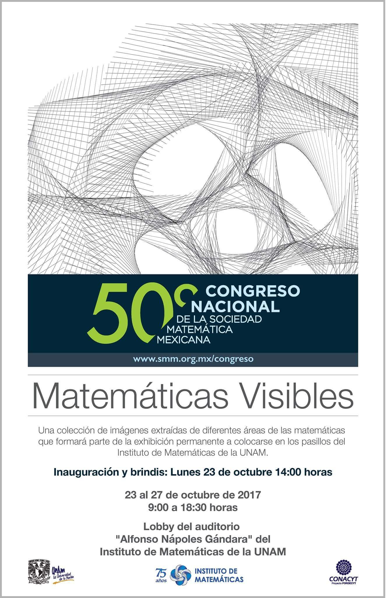 """Exposición """"Matemáticas Visibles"""""""