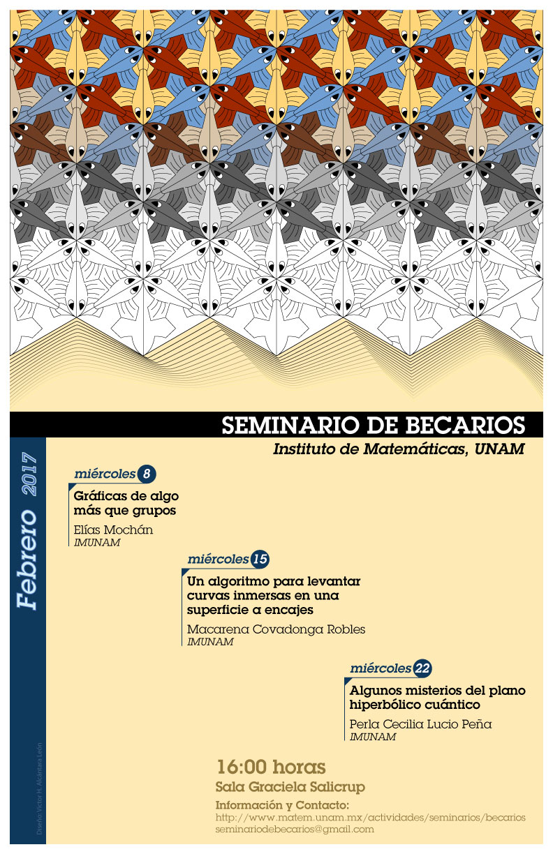 Febrero: Sesiones para Seminario de Becarios