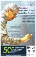 """Homenaje a  Francisco """"Fico"""" González Acuña en su 75 aniversario"""
