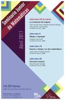 Marzo/Abril: Sesiones para el Seminario Junior