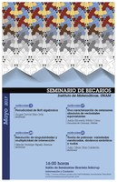 Mayo: Sesiones para Seminario de Becarios