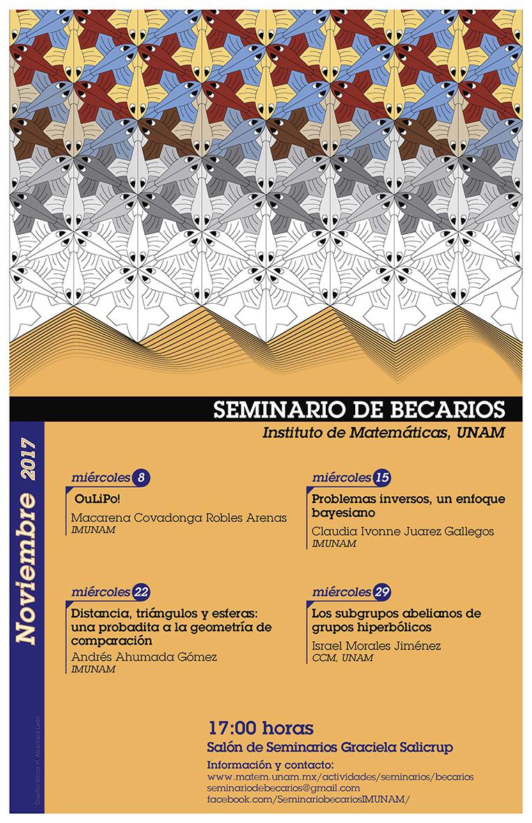 Noviembre: Sesiones para Seminario de Becarios