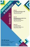 Octubre: Sesiones para el Seminario Junior de Matemáticas