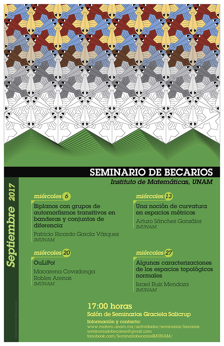 Septiembre: Sesiones para Seminario de Becarios