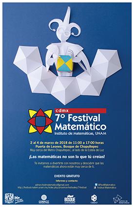 7º Festival Matemático, cdmx